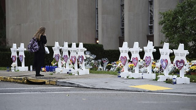 Site of Pittsburgh attack (Photo: AFP)