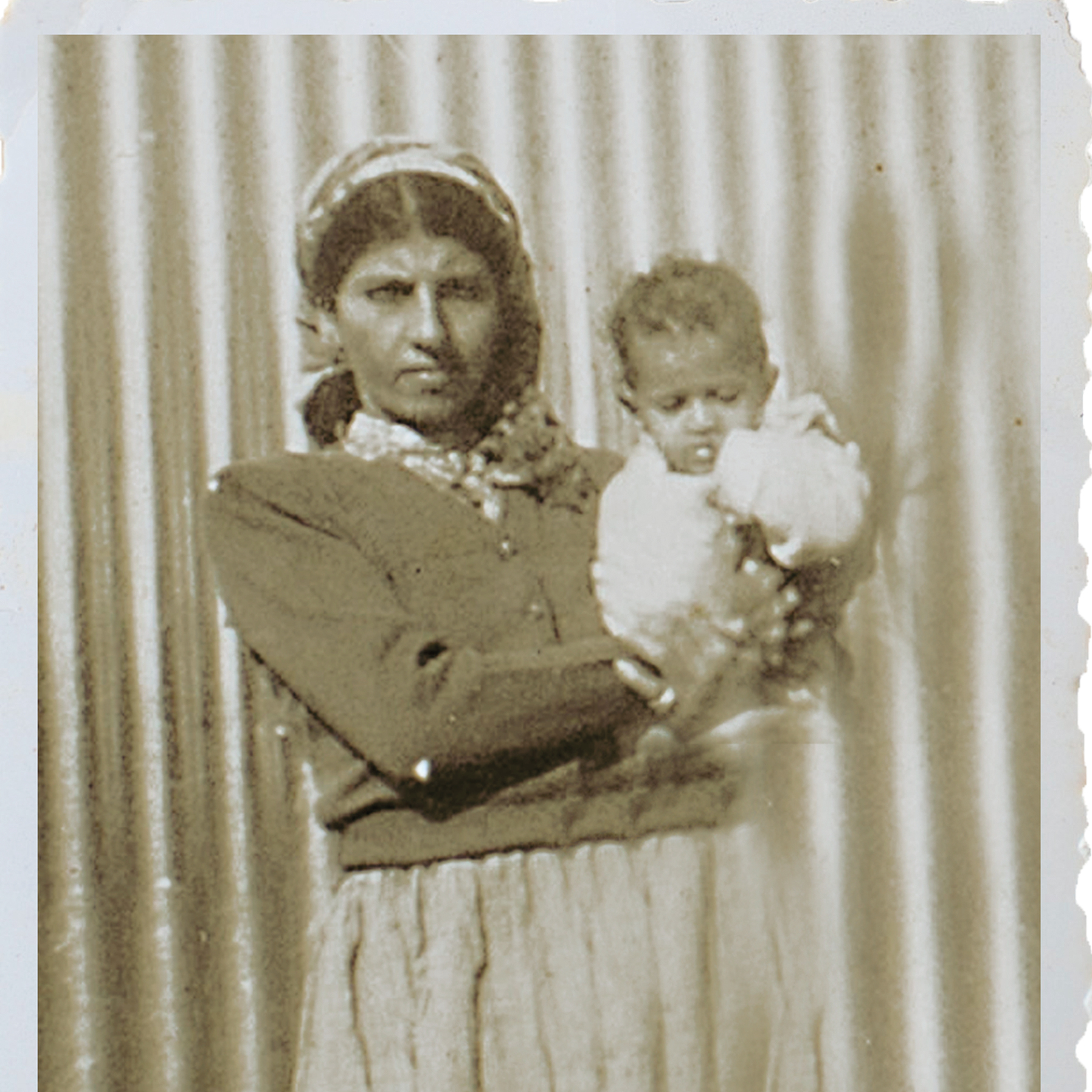 Baby Su'ud and her mother Sara