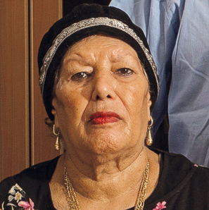 Salma Ozeri, who was able to get one son out of two back
