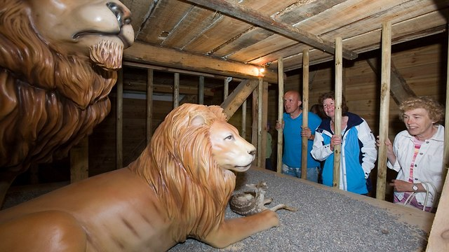 Life-size figures of animals inside the Noah's Ark (Photo: Gettyimages)