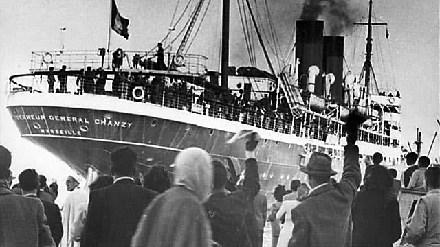 Tunisian Jews immigrating to Israel in the 1940s (Photo: Beit Hatfutsot)