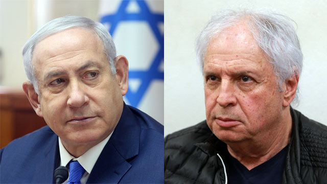 Prime Minister Benjamin Netanyahu and Shaul Elovitch (Photo: Marc Israel Sellem, Orel Cohen)