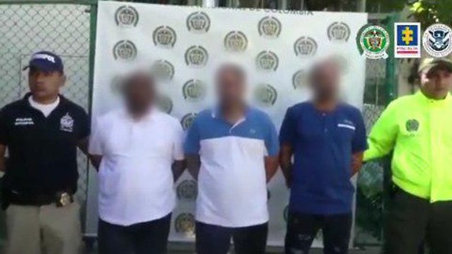 Israelis arrested in Colombia