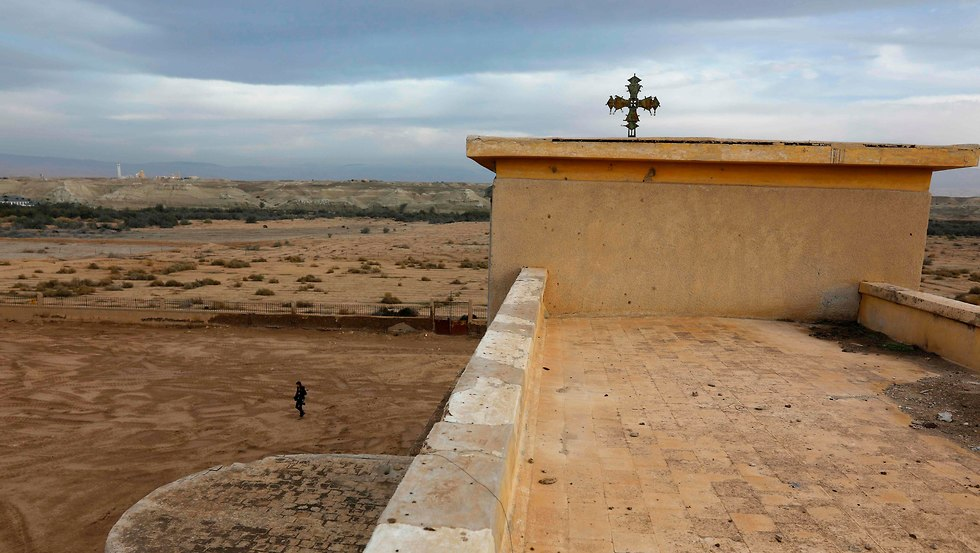 Qasr al-Yahud, the baptism site (Photo: AFP)