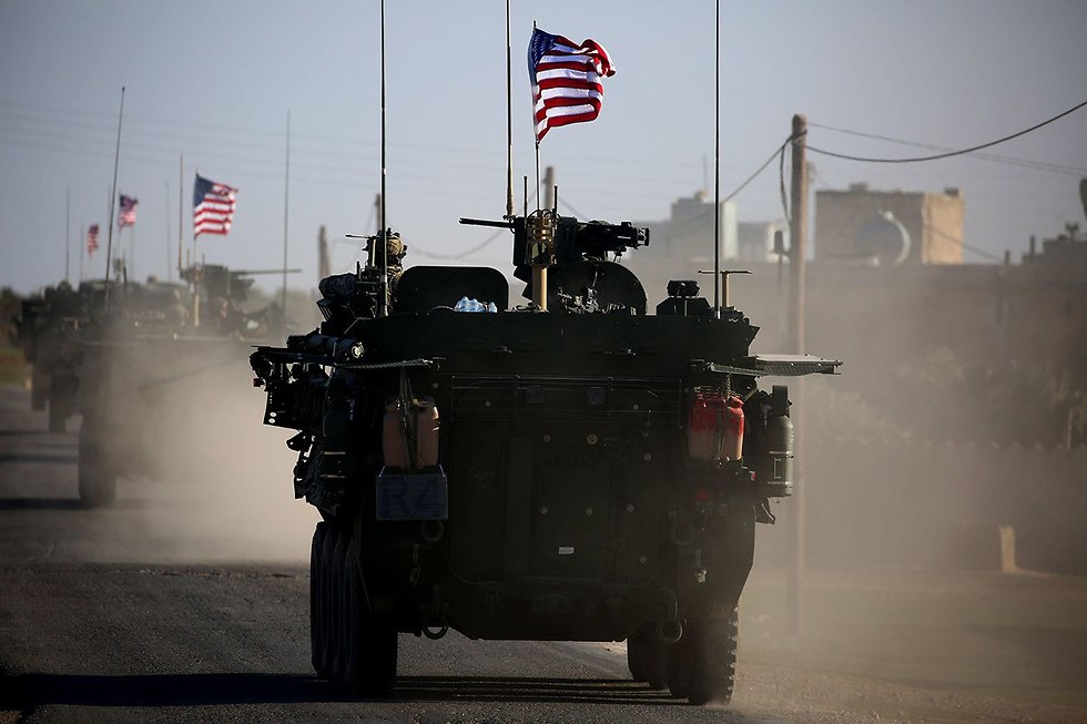 American troops in Syria (Photo: AFP)