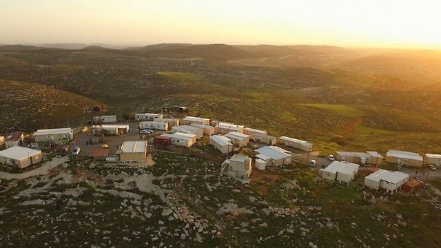 The Asael outpost near Hebron (Photo: Courtesy of Asa'el)