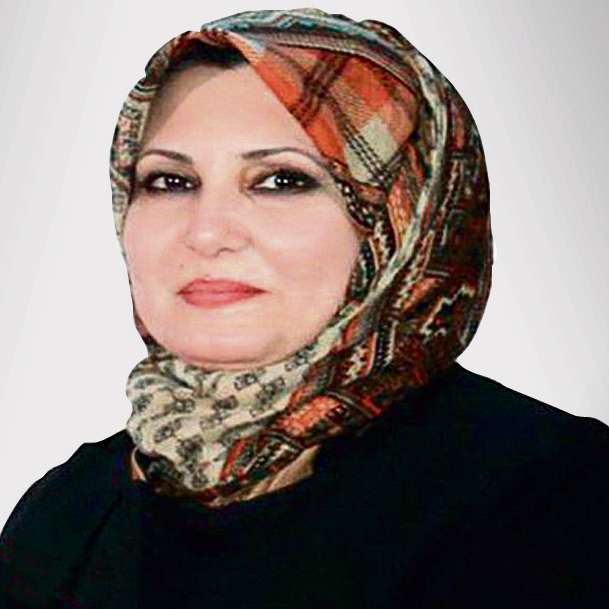 Former Iraqi Education Minister Shaimaa al-Hayali, who became a different kind of ISIS victim