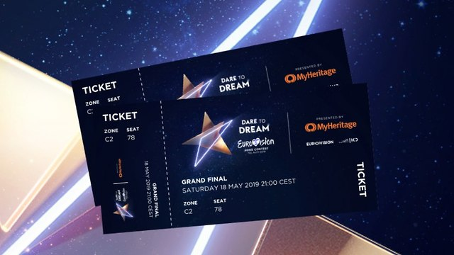 Eurovision 2019 tickets (Photo: KAN)