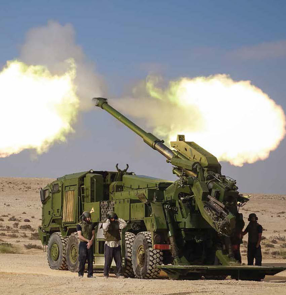 ATMOS cannon (Photo: Elbit Systems)