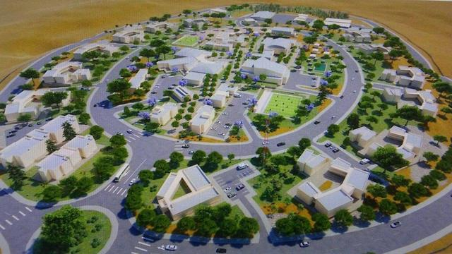 Simulation of the new Nahal base