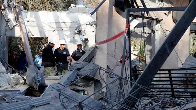 The scene of the attack (Photo: AFP)