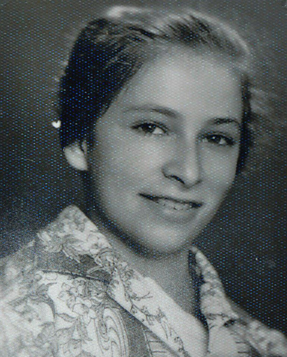 A young Nechama Rivlin