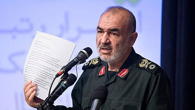 IRGC Commander Hossein Salami (Photo: AP)