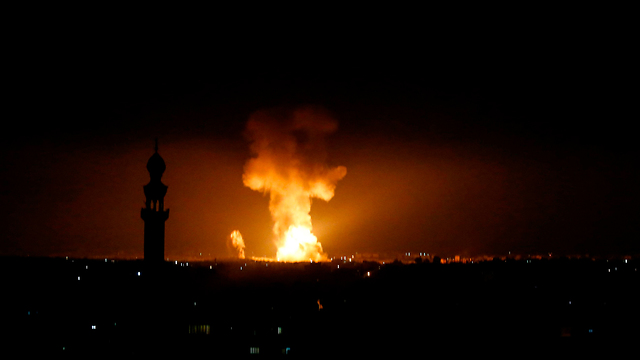 Israel attacks Gaza targets June 2019 (Photo: AFP)