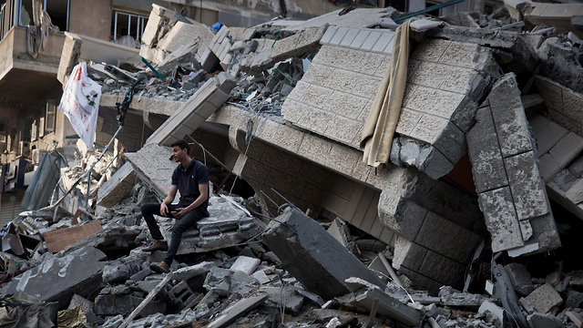 The aftermath of IDF strikes in Gaza (Photo: AP)