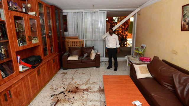 Rocket struck a home in Ashdod