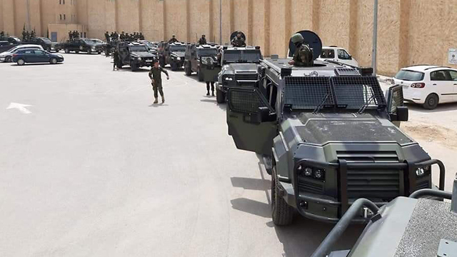 PA armored vehicles