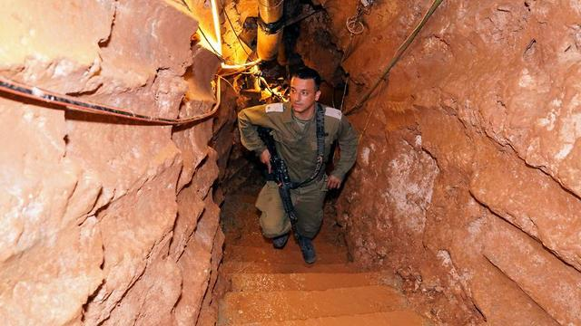 Inside a Hezbollah tunnel