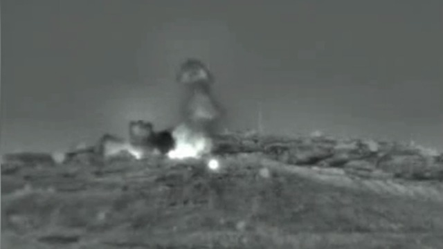 Footage of the strikes released by IDF (Photo: IDF Spokesperson's Unit)
