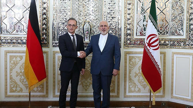 German Foreign Minister Heiko Maas in Tehran with hs Iranian counterpart Mohammad Javad Zarif earlier this year (Photo: Reuters)