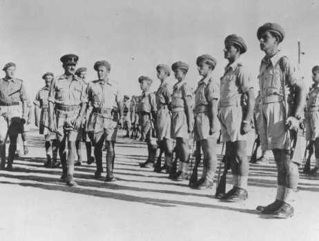 The Jewish Brigade in the British Army during WWII (Photo: Archive)