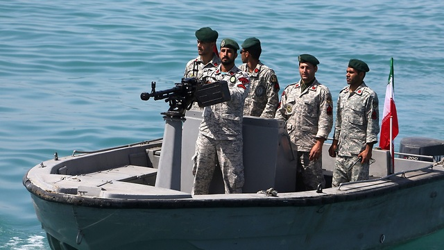 Iranian naval forces in the Strait of Hormuz in April 2019 (Photo: AFP)