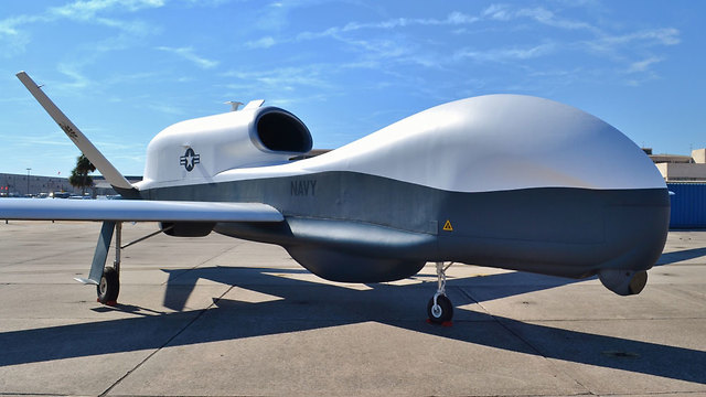 The MQ-4C Triton drone was shot down by Iran in June 2019 in what Tehran says was its airspace (Photo: Shutterstock)