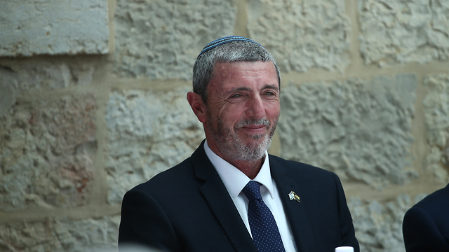 Education Minister Rafi Peretz  (Photo: Ohad Zwigenberg)