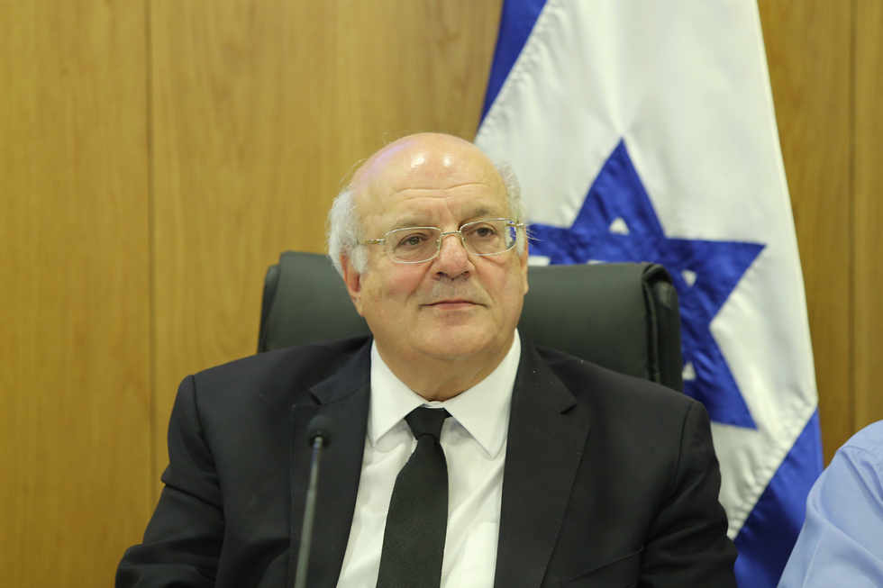 Chairman of the Central Elections Committee  (צילום: עמית שאבי)