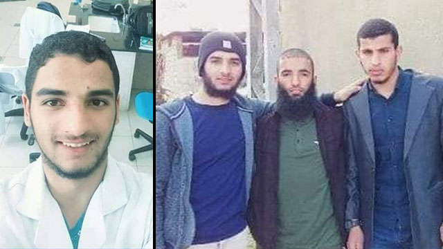 The four armed Gazans killed during an infiltration attempt, identified by Palestinian sources