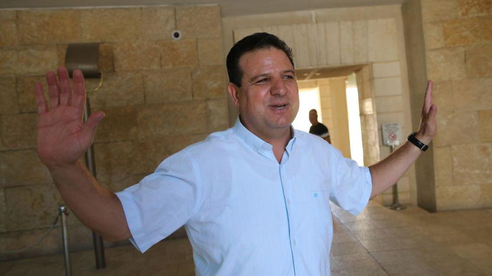 Ayman Odeh at the Supreme Court hearing about on banning the far-right Otzma Yehudit for running in the elections (photo: Alex Kolomoisky) (Photo: Alex Kolomoisky)