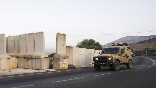Israeli military patrol near the border with Lebanon (Photo: AFP)