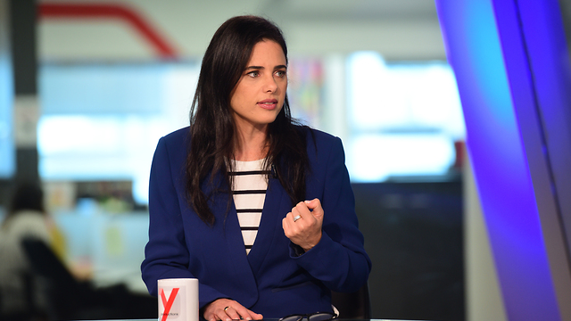 Yamina leader Ayelet Shaked (Photo: Raz Gross)