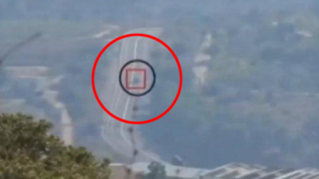Footage from Hezbollah showing the attack on IDF troops from Lebanon