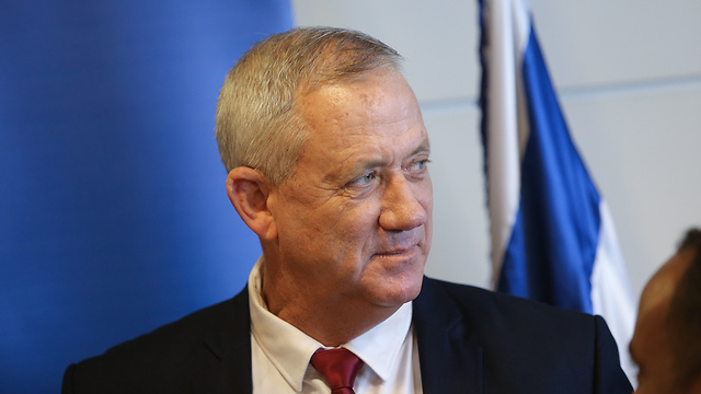 Blue and White leader Benny Gantz (Photo: Alex Kolomoisky)