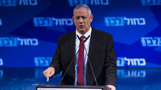 Blue and White leader Benny Gantz  (Photo: Getty Images)