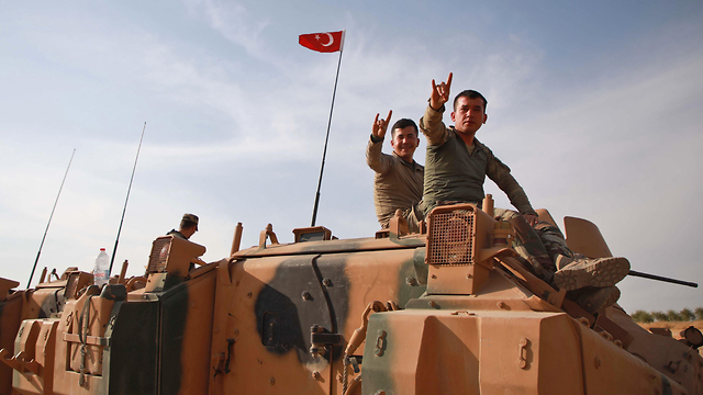 Turkish military in Syria (Photo: AFP)