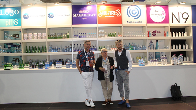 Mineral water tasting for the general public in Termatalia