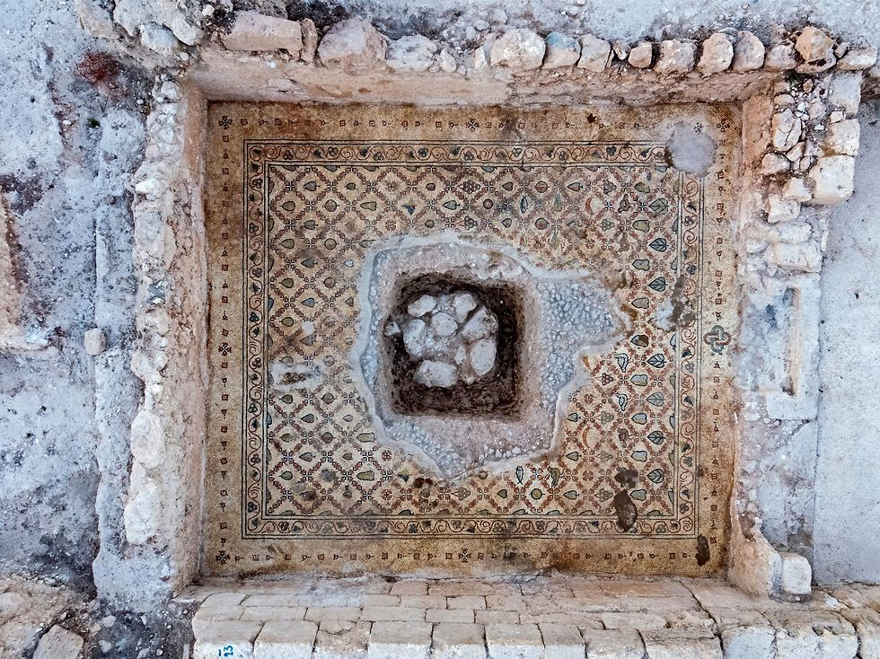 Byzantine church uncovered near Jerusalem (Photo: Israel Antiquities Authority)
