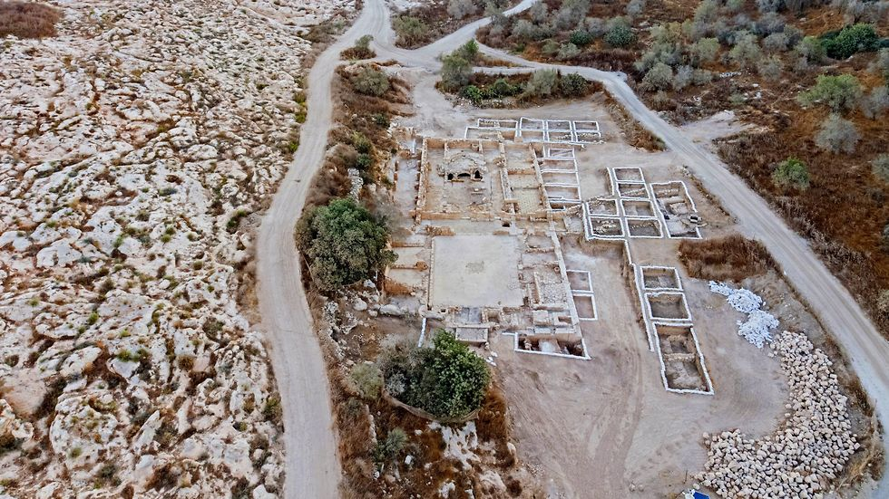 The Byzantine church uncovered near Jerusalem (Photo: Israel Antiquities Authority) (Photo: Israel Antiquities Authority)
