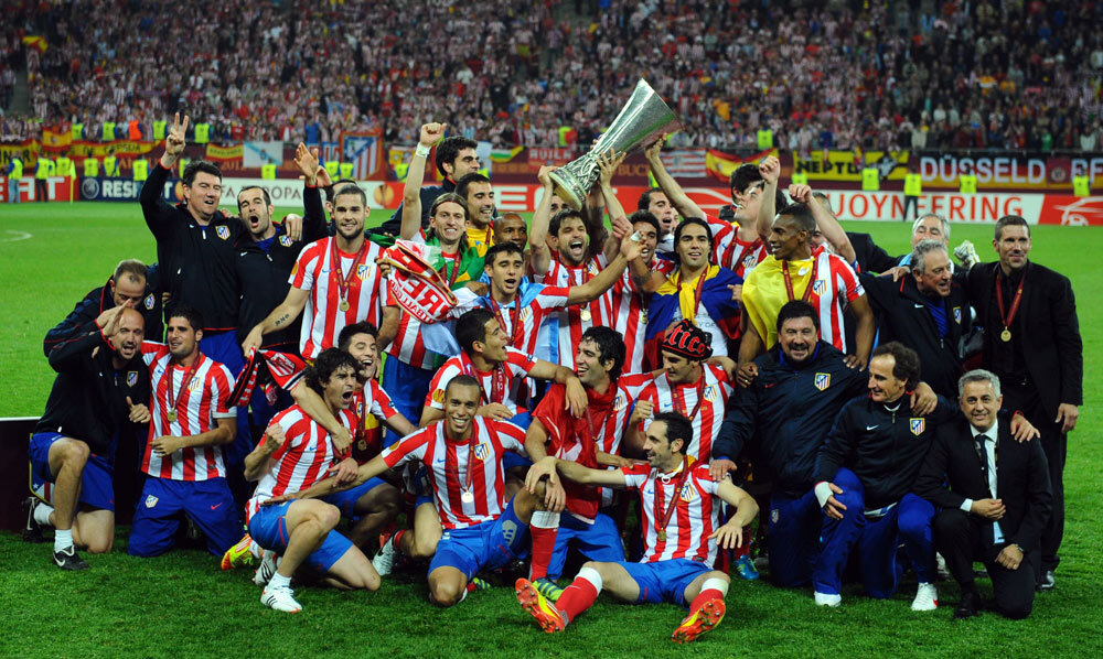 Will the stadium bring luck?  Atletico celebrates in 2012