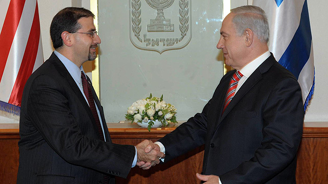 Dan Shapiro and Benjamin Netanyahu