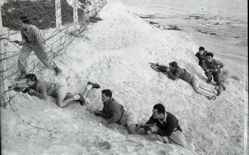 Israeli soldiers training during the War of Independence, 1948
