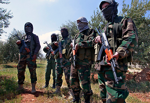 Hezbollah forces in South Lebanon