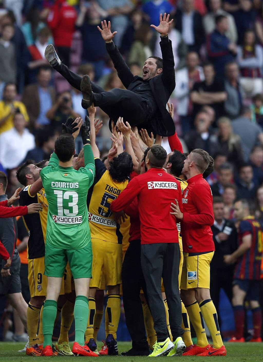 So it ended well.  Simeone is celebrating a championship in 2014