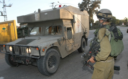 IDF soldiers during the 2014 Gaza War