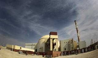 The Iranian nuclear plant in Bushar