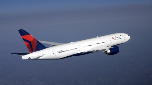 A Delta Air Lines Dreamliner