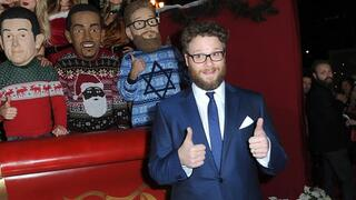 Seth Rogen at premier of his film The Night Before