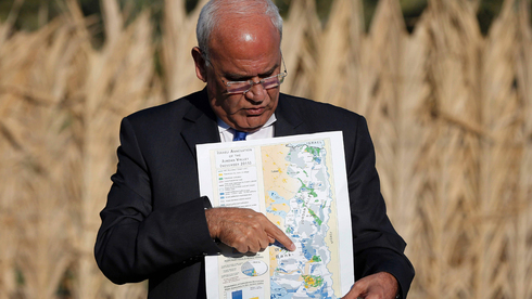 Erekat gives a press briefing on Israel's intentions to annex parts of the West Bank